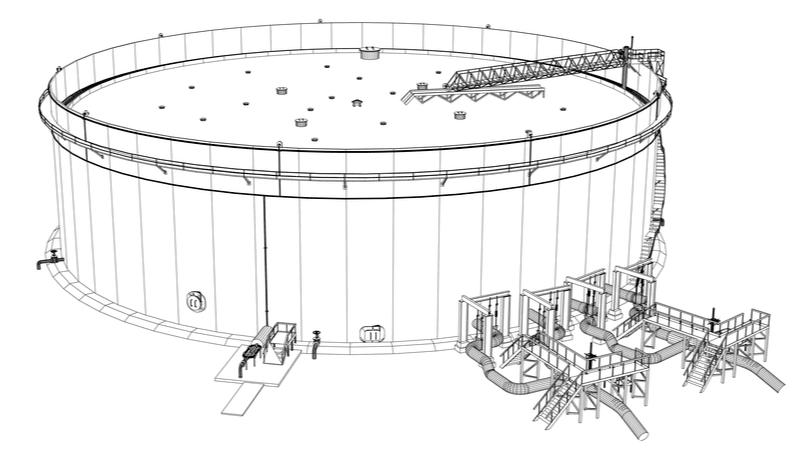 oil tank schematic